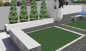 Διαμόρφωση κήπου στο Μαρούσι
