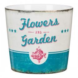 Κασπώ Κεραμικό Scheurich retro garden mini ''Flower Garden''