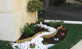 Διαμόρφωση ιδιωτικού κήπου σε γραφεία στο Κερατσίνι