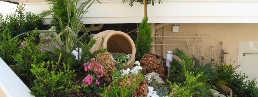 Διαμόρφωση ιδιωτικού κήπου στο Κερατσίνι