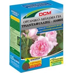 Οργανικό λίπασμα για τριανταφυλλιές και ανθοφόρα DCM, NPK 6-4-10 + 2MgO