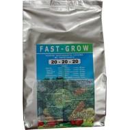 Υδατοδιαλυτό κρυσταλλικό λίπασμα Fast grow 20-20-20 1Kg