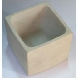 Τετράγωνο Τσιμεντένιο Γλαστράκι 8x8x7